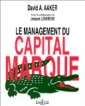 Le management du capital marque