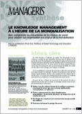 Le knowledge management à l'heure de la mondialisation