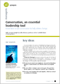 Conversation, an essential leadership tool