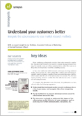Understand your customers better