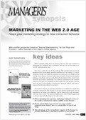 Marketing in the Web 2.0 age
