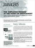 "The ""Employer Promise"" at the heart of engagement"